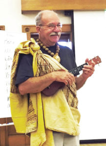 Roy Leabig wants to share his love of Polynesian culture and is teaching classes on the topic to accomplish it.
