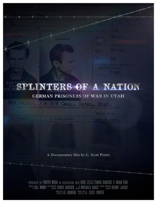 "The documentary ""Splinters of a Nation: German Prisoners of War in Utah"" will be screened at the Casino Star Theatre tonight at 7 p.m. before it goes on to air on KUED. Filmmaker G. Scott Porter (shown in inset box) and Ken Verdoia of KUED-TV will answer questions after the screening."