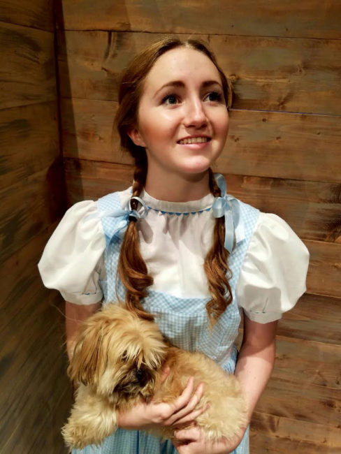 "North Sanpete High Junior Shinohe Lee is Dorothy Gale in the upcoming musical production ""The Wizard of Oz"""