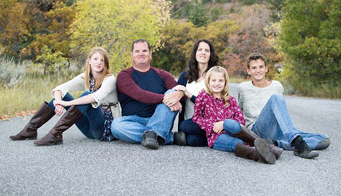 A fundraising campaign has been established to help the family of Gunnison City Police Chief Trent Halliday (seen here). Halliday, a lawman, football coach, and father of three, was recently diagnosed with stage 4 cancer.
