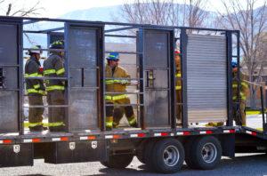 NEWS - PHOTOPACKAGE - Regional fire school - fast entry training - ROBERT