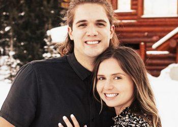 Ryan Chapman and Hayley Kelsch